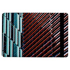 Red And Black High Rise Building Ipad Air Flip