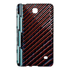 Red And Black High Rise Building Samsung Galaxy Tab 4 (7 ) Hardshell Case