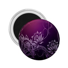 Purple Lotus 2 25  Magnets