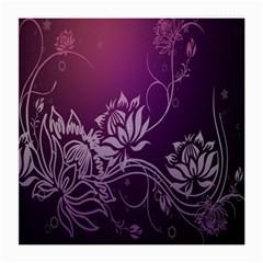 Purple Lotus Medium Glasses Cloth (2-Side)