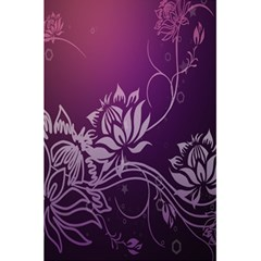 Purple Lotus 5.5  x 8.5  Notebooks