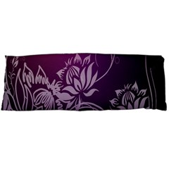 Purple Lotus Body Pillow Case Dakimakura (two Sides)