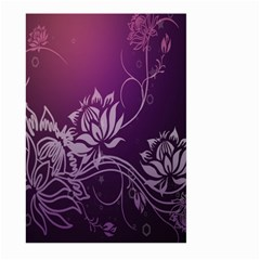 Purple Lotus Large Garden Flag (two Sides)