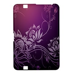 Purple Lotus Kindle Fire HD 8.9