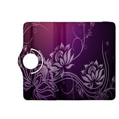 Purple Lotus Kindle Fire HDX 8.9  Flip 360 Case