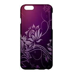 Purple Lotus Apple Iphone 6 Plus/6s Plus Hardshell Case
