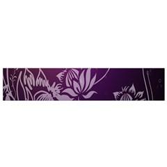Purple Lotus Flano Scarf (Small)
