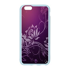 Purple Lotus Apple Seamless iPhone 6/6S Case (Color)