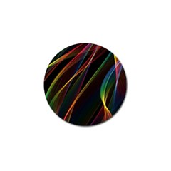 Rainbow Ribbons Golf Ball Marker (10 pack)