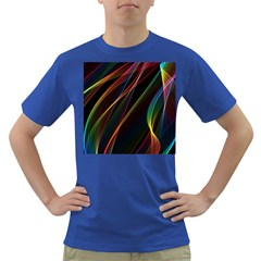 Rainbow Ribbons Dark T Shirt
