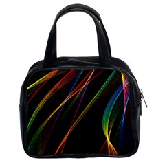 Rainbow Ribbons Classic Handbags (2 Sides)