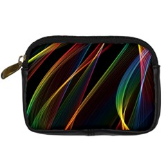 Rainbow Ribbons Digital Camera Cases