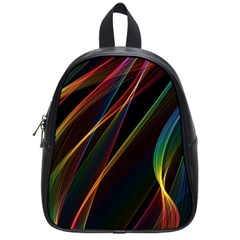 Rainbow Ribbons School Bags (small)