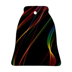 Rainbow Ribbons Ornament (Bell)