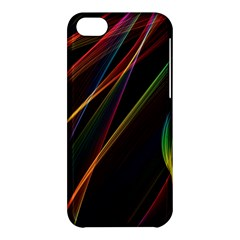 Rainbow Ribbons Apple iPhone 5C Hardshell Case