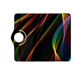 Rainbow Ribbons Kindle Fire Hdx 8 9  Flip 360 Case
