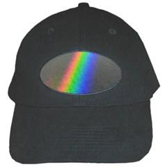 Rainbow Color Spectrum Solar Mirror Black Cap