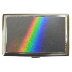 Rainbow Color Spectrum Solar Mirror Cigarette Money Cases