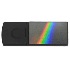 Rainbow Color Spectrum Solar Mirror USB Flash Drive Rectangular (2 GB)