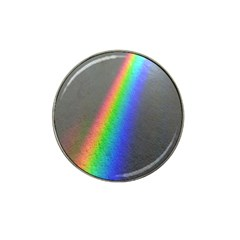 Rainbow Color Spectrum Solar Mirror Hat Clip Ball Marker
