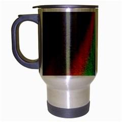 Rainbow Color Spectrum Solar Mirror Travel Mug (Silver Gray)