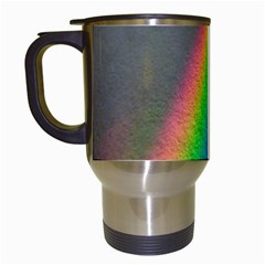 Rainbow Color Spectrum Solar Mirror Travel Mugs (white)