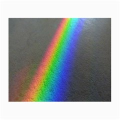 Rainbow Color Spectrum Solar Mirror Small Glasses Cloth