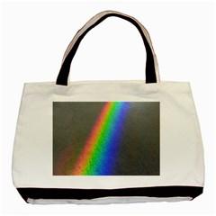 Rainbow Color Spectrum Solar Mirror Basic Tote Bag