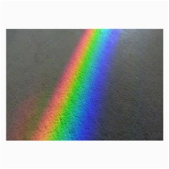 Rainbow Color Spectrum Solar Mirror Large Glasses Cloth