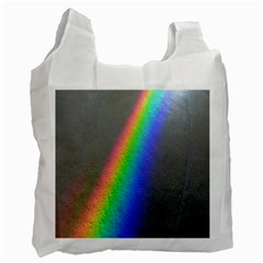 Rainbow Color Spectrum Solar Mirror Recycle Bag (two Side)