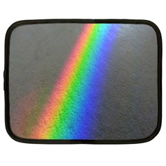 Rainbow Color Spectrum Solar Mirror Netbook Case (XL)