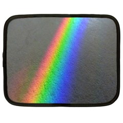 Rainbow Color Spectrum Solar Mirror Netbook Case (XXL)