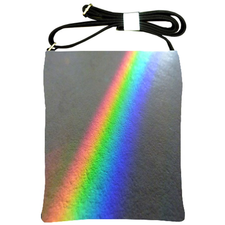 Rainbow Color Spectrum Solar Mirror Shoulder Sling Bags