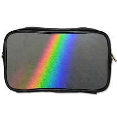 Rainbow Color Spectrum Solar Mirror Toiletries Bags