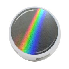 Rainbow Color Spectrum Solar Mirror 4-Port USB Hub (Two Sides)
