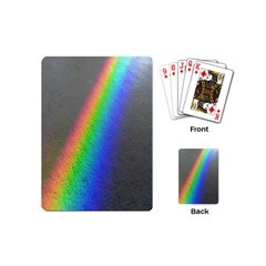 Rainbow Color Spectrum Solar Mirror Playing Cards (Mini)