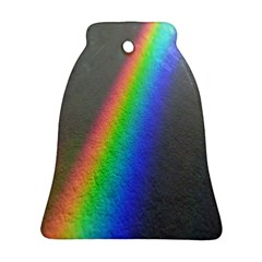 Rainbow Color Spectrum Solar Mirror Ornament (Bell)