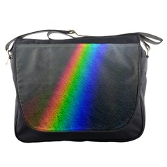 Rainbow Color Spectrum Solar Mirror Messenger Bags