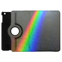 Rainbow Color Spectrum Solar Mirror Apple Ipad Mini Flip 360 Case