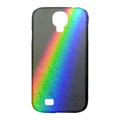 Rainbow Color Spectrum Solar Mirror Samsung Galaxy S4 Classic Hardshell Case (PC+Silicone)