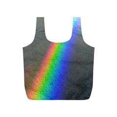 Rainbow Color Spectrum Solar Mirror Full Print Recycle Bags (s)