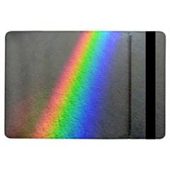 Rainbow Color Spectrum Solar Mirror iPad Air Flip