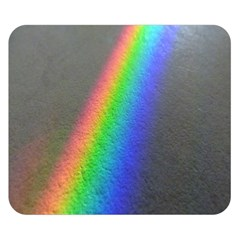 Rainbow Color Spectrum Solar Mirror Double Sided Flano Blanket (small)