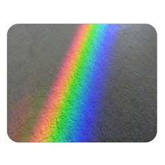 Rainbow Color Spectrum Solar Mirror Double Sided Flano Blanket (large)