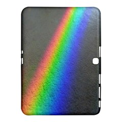 Rainbow Color Spectrum Solar Mirror Samsung Galaxy Tab 4 (10.1 ) Hardshell Case