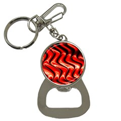 Red Fractal  Mathematics Abstact Button Necklaces