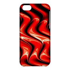 Red Fractal  Mathematics Abstact Apple Iphone 5c Hardshell Case