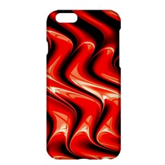 Red Fractal  Mathematics Abstact Apple Iphone 6 Plus/6s Plus Hardshell Case
