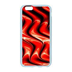 Red Fractal  Mathematics Abstact Apple Seamless iPhone 6/6S Case (Color)