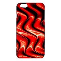 Red Fractal  Mathematics Abstact Iphone 6 Plus/6s Plus Tpu Case